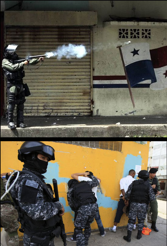 Informe preliminar sobre violación de Derechos Humanos en la ciudad de Colón (Panamá)