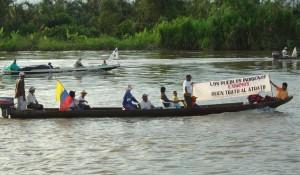 Acompañamiento comunidades del Medio Atrato (Colombia)
