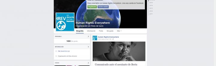Sigue la actualidad de HREV en nuestra página FB